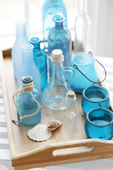Turquoise Glass Bottles