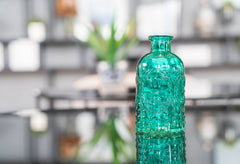 Aqua Glass Bottle
