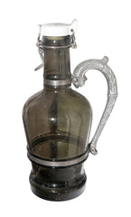 Black Glass Carafe