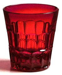 Holtmaster Highball Red Glass