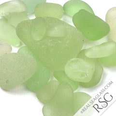 Rare UV Sea Glass