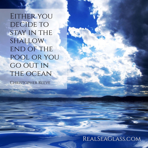 Real Sea Glass Ocean Quote 18