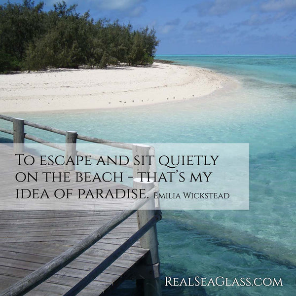 Real Sea Glass Ocean Quote 19