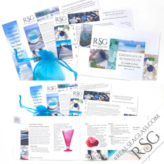 Real Sea Glass 12 Page Sea Glass Guide and Documentation Package