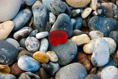 Red Sea Glass Bottle Top