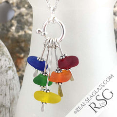 Rainbow Sea Glass Sea Spray by RealSeaGlass.com