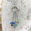 Sea & Sky Sea Glass Sea Spray Sterling Silver Necklace