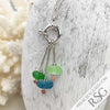 Aquateal Sea Glass Sea Spray Sterling Silver Necklace