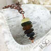 Bring on the Boozies Sea Glass Necklace