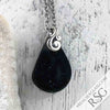 Black Sea Glass Necklace