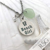 "Seafoam ""Beach Girl"" Necklace"