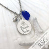 "Cobalt Blue ""Beach Babe"" Necklace"