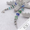 Multi-Colored Hawaiian and Caribbean Sea Glass Bracelet