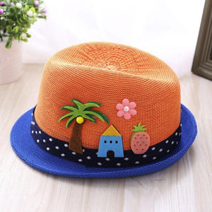 Summer Baby Hat Fashion Cap Children Breathable Hat Show Kids hat Boy Girls Hats Casual Beach Party Unisex Caps 2018