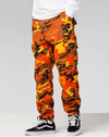 Camouflage Dream$ Cargo Pants Pants Orange 33 Streetwear Nova