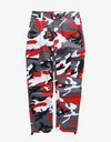 Camouflage Dream$ Cargo Pants Pants Red 33 Streetwear Nova