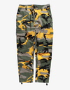Camouflage Dream$ Cargo Pants Pants Yellow 33 Streetwear Nova