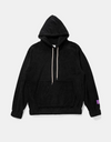 """CC"" Sherpa Fleece Pullover Sweaters & Hoodies black XL Streetwear Nova"