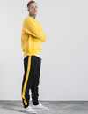 Forbidden Colours Joggers black-yellow 30 Streetwear Nova