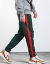 Forbidden Colours Joggers green-red 30 Streetwear Nova