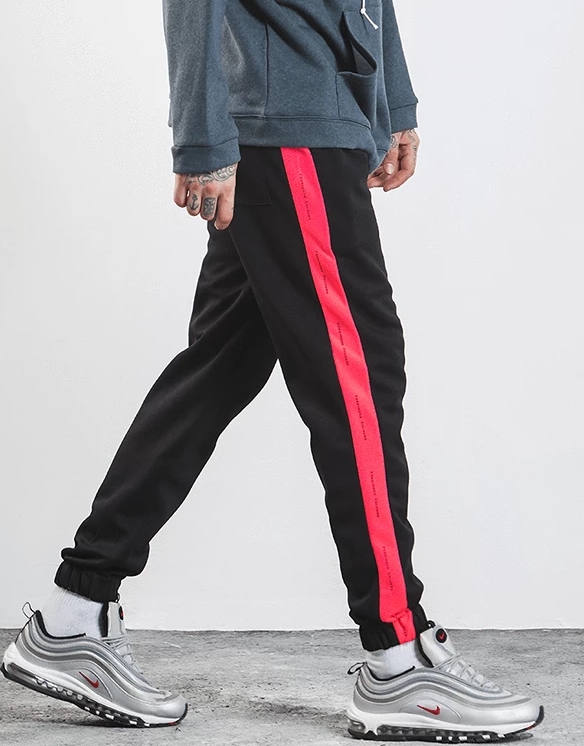 Forbidden Colours Joggers Rose-red 30 Streetwear Nova