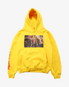 Freedom x Hope Oversized Hoodie Hoodies Yellow M Streetwear Nova