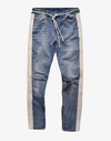 Retro v1 Distressed Jeans Pants blue 30 Streetwear Nova