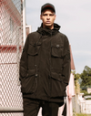 Semi-Long Pocketed Trench Coat Outerwear Streetwear Nova