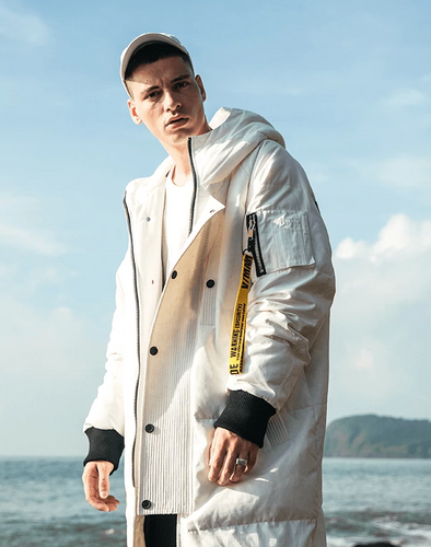 V/Made Down Coat Outerwear White L Streetwear Nova