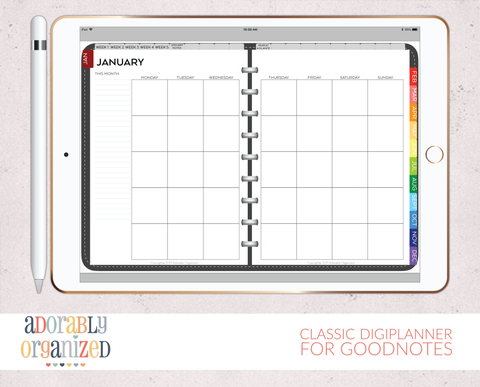 Digital Planners for iPad – Adorably Organized
