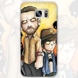 TWD Transparent Case Cover for Galaxy