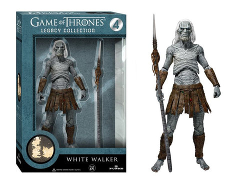 GOT White Walker with Spear Collectible Action Figure