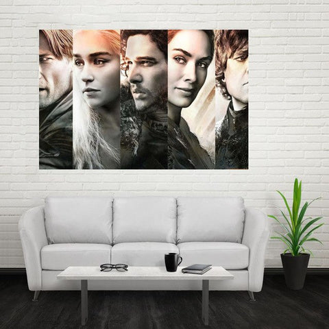 GOT Poster Custom Canvas Poster Art Home Decoration