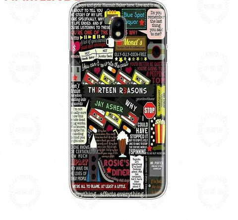 13Cover phone case for Samsung Galaxy J