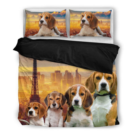 Amazing Beagle Bedding Set- Free Shipping