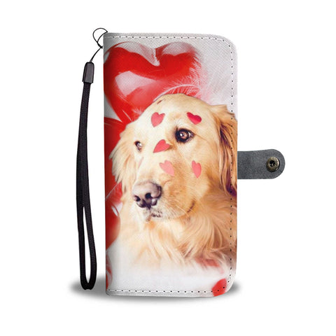 Golden Retriever Wallet Case- Free Shipping