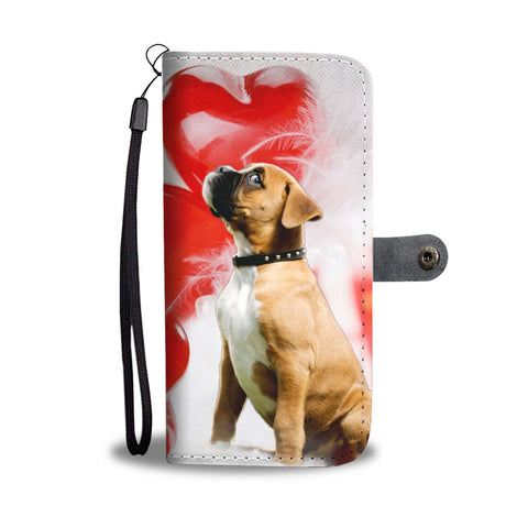 Boxer Puppy Wallet Case- Free Shipping
