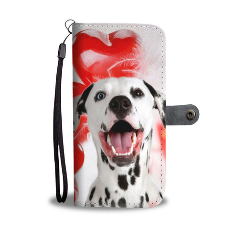 Dalmatian Dog Wallet Case- Free Shipping