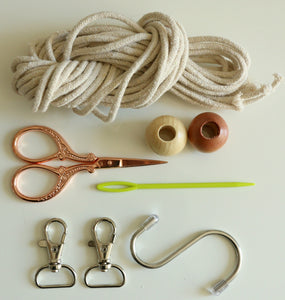Macrame Keychain Kit - With Video Lesson