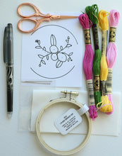 Mini Embroidery Kit with Beginner Class