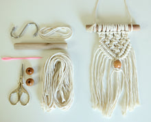 Macrame Wall Hanging Kit with Video Lessons