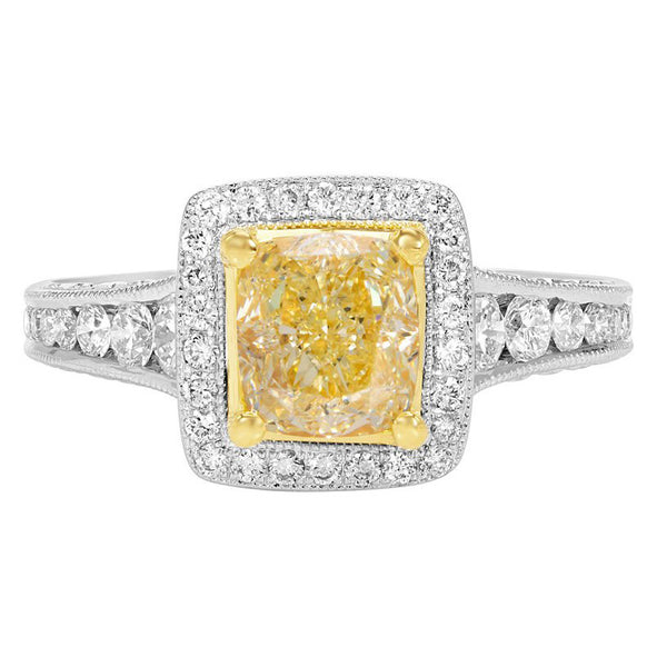 Luxe Yellow Diamond Ring Collection