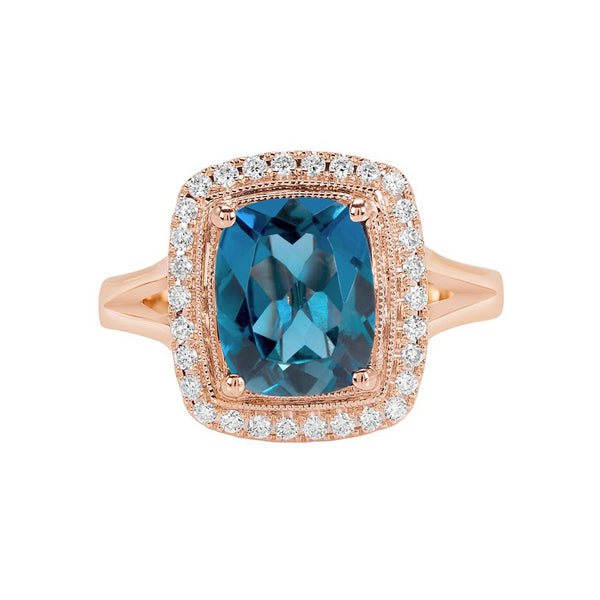 Luxe Topaz Ring Collection
