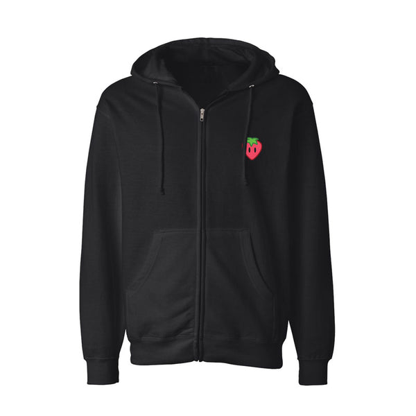 Strawberry Zip Hoody
