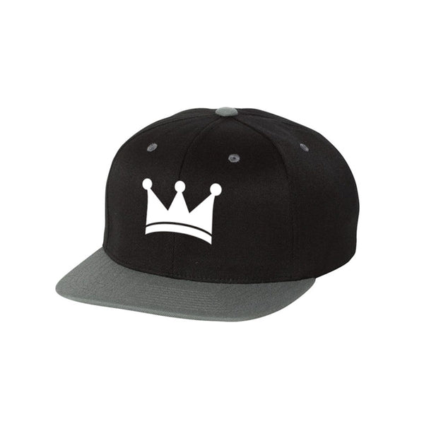 Crown Two Tone Snapback Hat