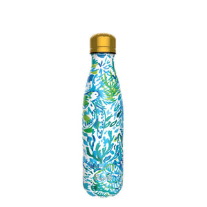Race to the Wave Lilly Pulitzer x Swell Bottle 17oz