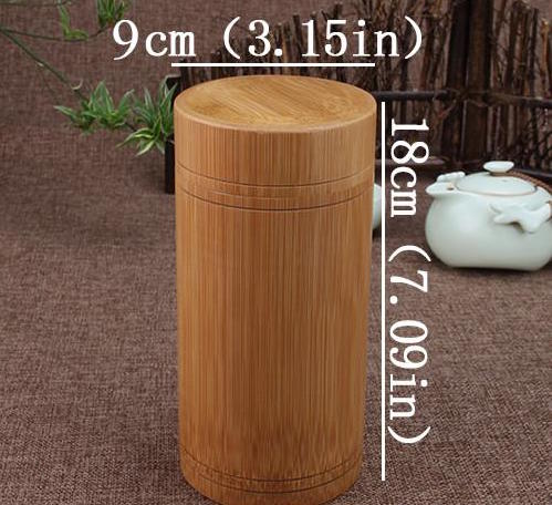 Vintage Handmade Bamboo Storage BoxesContainers With Lids The