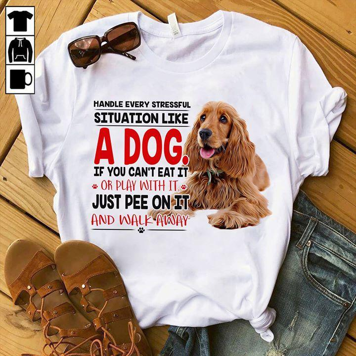 Cocker Spaniel T-shirt ds007