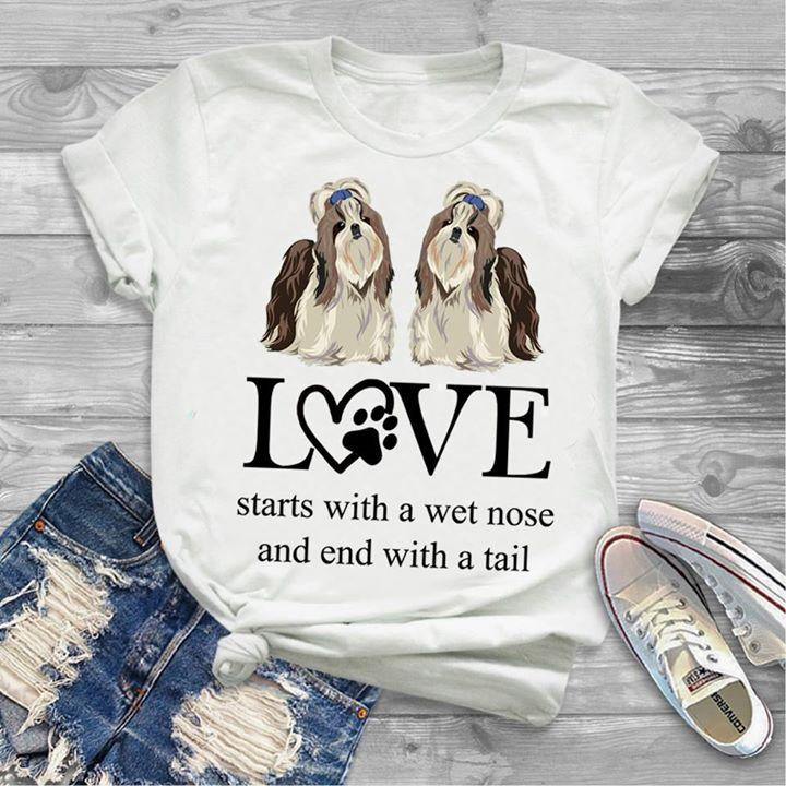 Shih Tzu T-shirt ds048