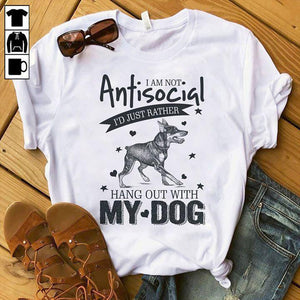 Dog T-shirt ds083